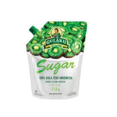 Gulaku White Premium Sugar 750gr