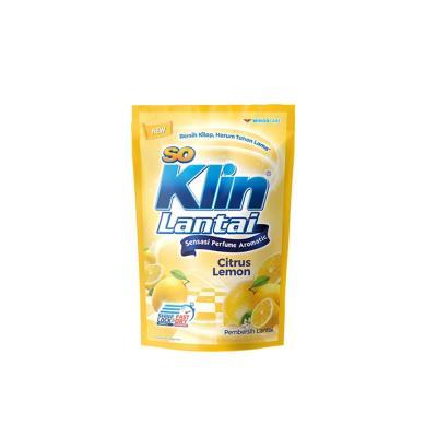 Soklin Lantai Pouch Lemon 780ml - Kuning