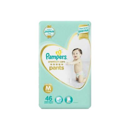 Pampers Popok Premium Care Pants M-46