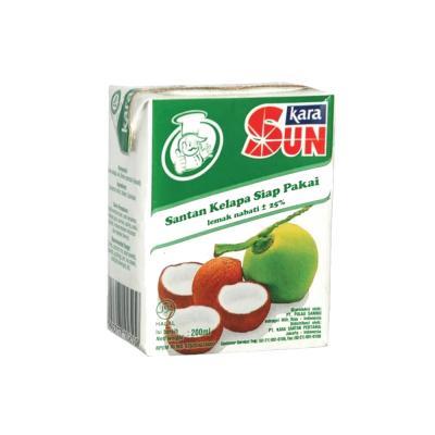 Sun Kara Santan Hijau 200ml