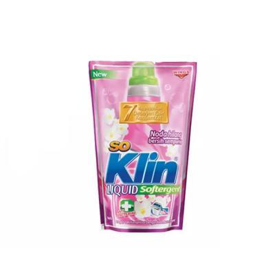 Soklin Liquid Softergent Pouch 1600ml - Pink